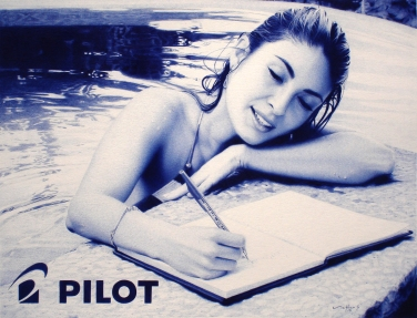 Pilot Pens Promotional Artwork