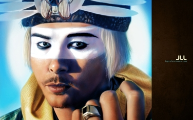 """Luke Steele"" from the band Empire of the Sun"