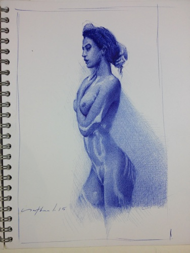 Ballpoint Pen Artwork / Sketch