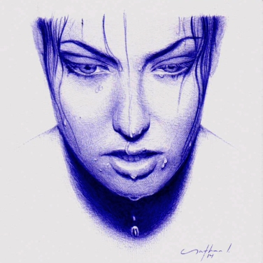 """Causeless"" - Ballpoint Pen Artwork / Sketch"